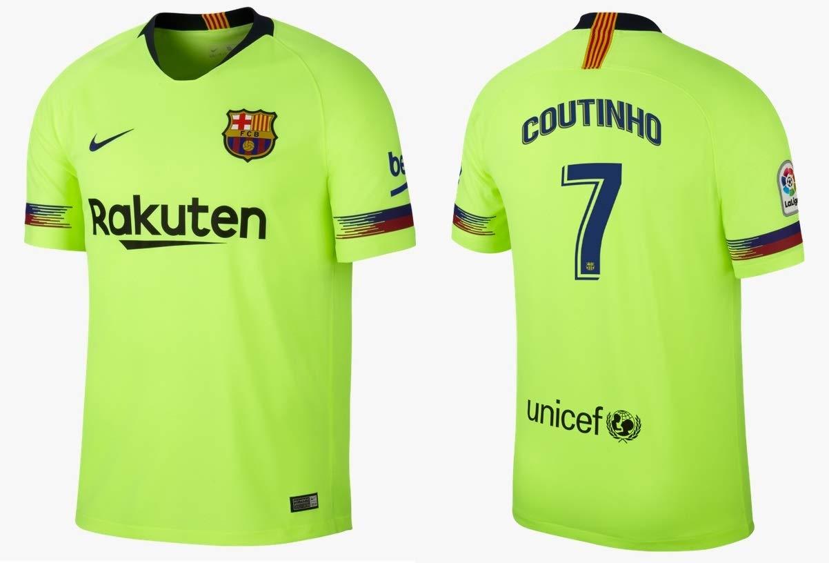 F.C. Barcelona Trikot Kinder 2018-2019 Away - Coutinho 7