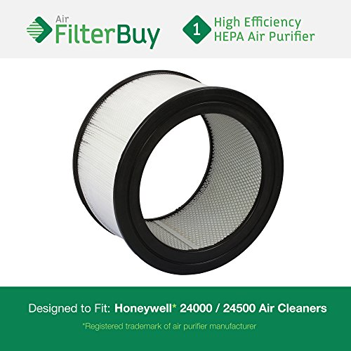 FilterBuy Honeywell Air Cleaner Replacement Filter for 13350, 13500, 13501, 13502, 13503, 13520, 13523, 13525, 13526, 13528, 50250, 50251, 52500, 63500, 83162, 83259, 83287, 83332 By AFB Hepa