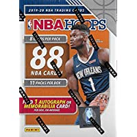 $34 » 2019 2020 Hoops NBA Basketball Blaster Box of Packs with One GUARANTEED AUTOGRAPH or…