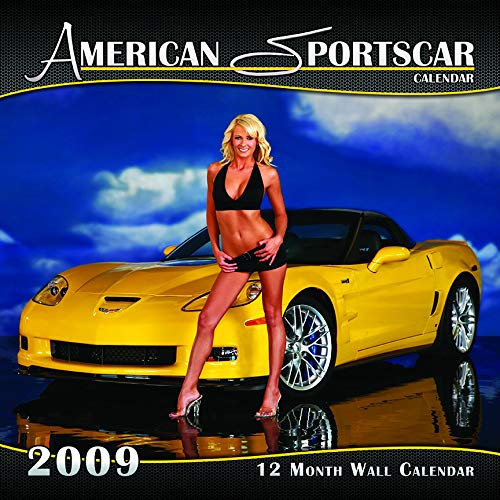 Year Calendar 2009 Wall (Vintage Pinup Car Girl Collector Wall Calendar Past Years (2009 Bikini Style))
