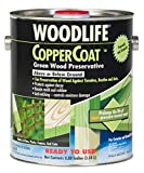 Rust-Oleum 01901 Coppercoat Wood Preservative, 0.88-Gallon, Green