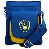 Charm14 MLB Milwaukee Brewers Crossbody Purse Crossbody Purse-Handbag-Travel