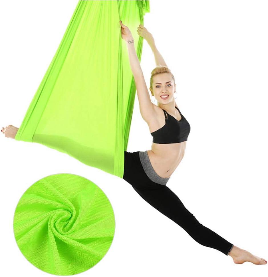 Conjunto de Hamaca de Yoga el/ástica Multifuncional Accesorio de Entrenamiento f/ísico para Principiantes y Profesionales Columpios de Yoga para ni/ños