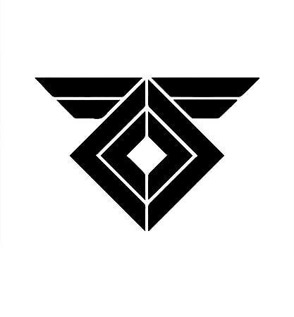 Amazon Destiny Raspuin Warmind Logo Vinyl Stickers Symbol 55