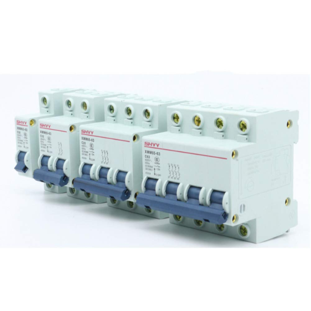 Household Air Open Mcb Miniature 1P 2P 3P 4P Small-Sized Circuit Breaker 6A 10A 16A 20A 63A