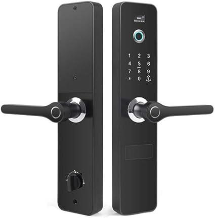 Cerradura Biométrico Fingerprint Keyless Door Lock Teclado ...