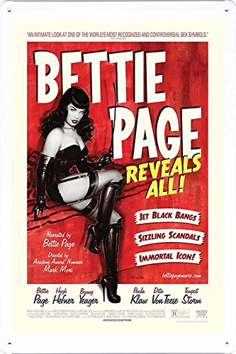 Metal Plate Movie Theater Decor Tin Sign Poster Wall Art (GAS-MFK0152) by Global Animal Sign - Planet Bettie