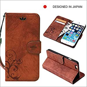 Book type case for iPhone 6 (Brown)
