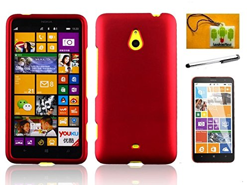 LF 3 in 1 Bundle - Hard Case Cover, Lf Stylus Pen, Screen Protector & Droid Wiper For Nokia Lumia 1320 (Hard (Nokia Stylus)