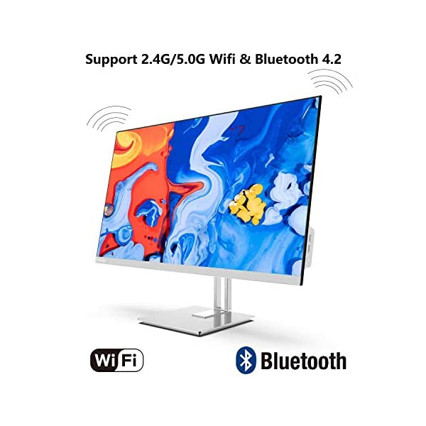 Preedip All in One Desktop Computer with Intel i5-6400 & Pre-Installed Windows 10,8GB DDR3 256GB ROM AIO PC Support Bluetooth 4.2 and 2.4G/5.0G Dual Band WiFi 23.8-inch 1920×1080 FHD
