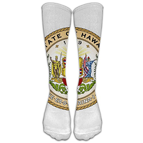 - MZYLYP Hawaii State Seal Socks Casual Comfortable Soft Stockings, 40cm