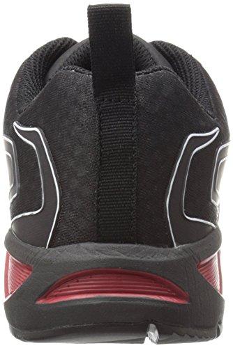 Nautilus 2422 Mens Geavanceerde Esd Nano Koolstofvezel Veiligheids Teen Atletische Werkschoen Rood