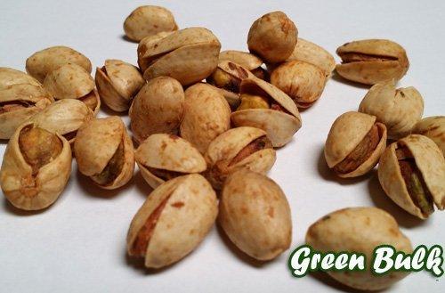 Pistachios In-Shells, Flavored from Green Bulk (Garlic an...