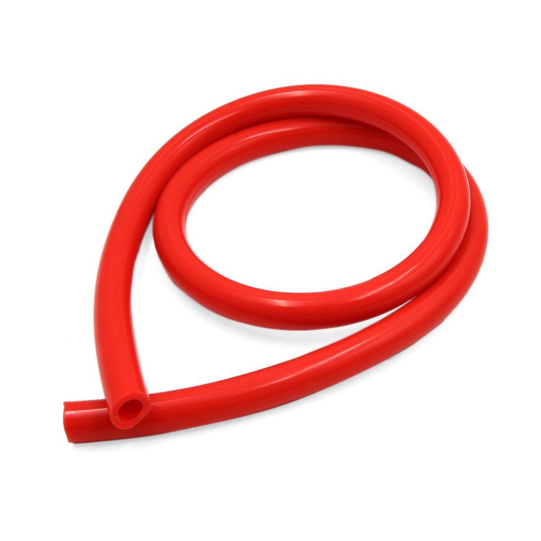 sourcing map 1M Longueur 10x16mm Silicone Rouge r/ésist Chaleur Flex Aspiration Tube pour Voiture