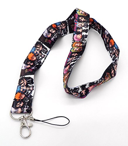 Anime-Bleach-Ichigo-Characters-Phone-Key-Chain-Strap-LANYARD