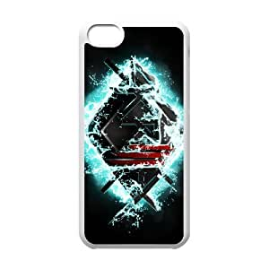 Skrillex 29 funda iPhone funda caso 5c teléfono celular de cubierta blanca, funda iPhone 5c casos Funda blanco