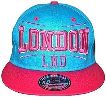 KB Ethos London - Gorra de béisbol Unisex, diseño Retro de Los ...