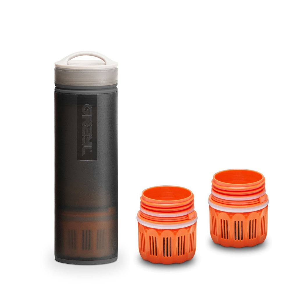 graul Ultralight Outdoor- & Reise Wasserfilter schwarz mit 2 Ersatzfiltern
