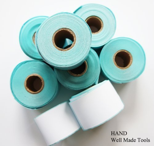 Write on Me Self Adhesive Tailors White Labels Stickers 45mm x89mm, 260pcs/Roll - Buy 4 Get 3 Free!