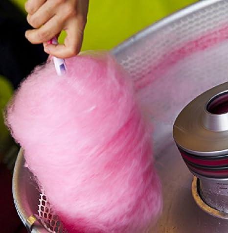 Cinin - Cininfloss Rojo Cereza - Azúcar de Colores para algodón de azúcar (Color Rojo - Sabor Cereza)…: Amazon.es