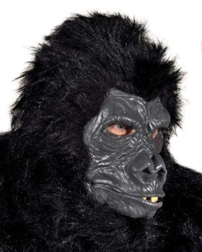 Zagone Deluxe Gorilla Mask, Ape, -