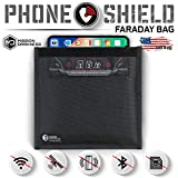 Product review for Mission Darkness Non-Window Faraday Bag for Phones - Device Shielding for Law Enforcement, Military, Executive Privacy, Travel & Data Security, Anti-Hacking & Anti-Tracking Assurance