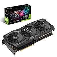 ASUS GeForce RTX 2070 Overclocked O8G GDDR6 HDMI DP 1.4 USB Type-C Graphic Card (ROG-STRIX-RTX2070-O8G-GAMING)