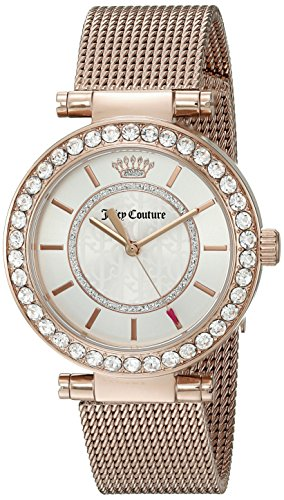 Juicy Couture Women's 1901374 Cali Analog Display Japanese Quartz Rose Gold Watch
