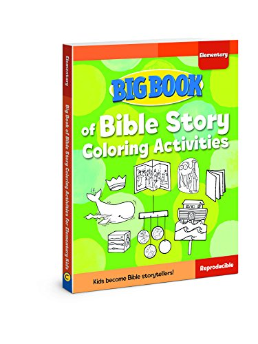 Big Book of Bible Story Coloring Activities for Elementary Kids (Big Books) from David C Cook