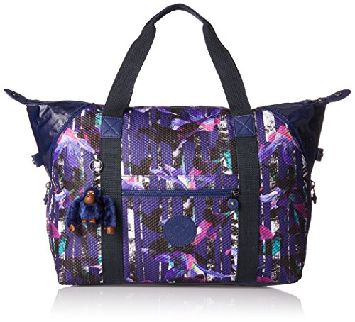 M Travel 58 Navy Blue Medium True Flower Bl 26 Urban Art liters cm Kipling C Tote 5A4q4