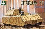 Takom 1:35 WWII German Super Heavy Tank Maus V1 - Plastic Model Kit #2049