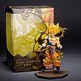 ZCL ZERO modeling animation around Bandai Dragon Ball Z Super Saiyan king Monkey hand to do battle damage