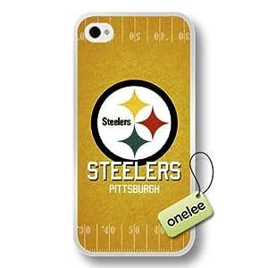 NFL Detroit Lions Team Logo For Iphone 5/5S Case Cover Black Soft Hard (PC) Case CovBlack