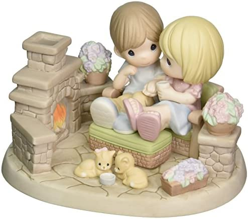 Precious Moments, You Are My Home Sweet Home, Bisque Porcelain Sculpture, Limited Edition, 131059