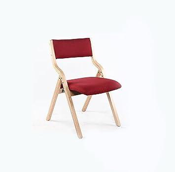 Chair QL sillones Plegables Silla Plegable de Madera Curvada ...
