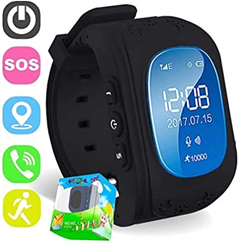 Turnmeon - Smartwatch Para NiÑOs, con Sim, Gps, Monitor AntipÉRdida, Sos, Chat por Voz, Gprs y AplicaciÓN de Control: Amazon.es: Electrónica