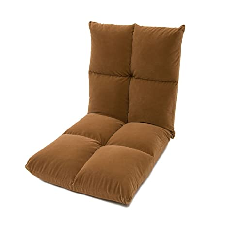 Lazy sofa Fold Silla de la Sala de Estar Sala de Tela de ...