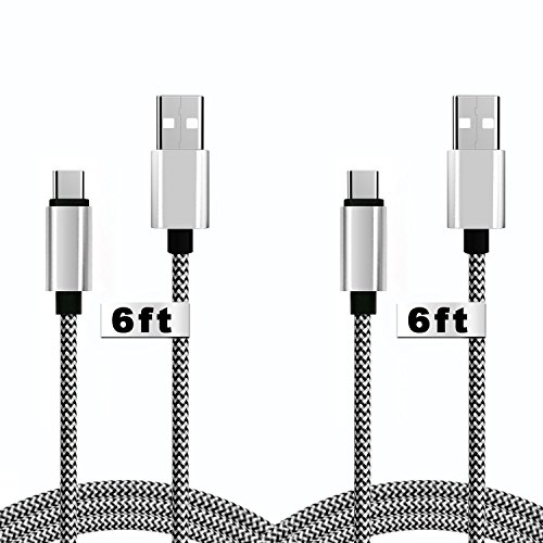 Macbook Braided Charging Phones Tablets black