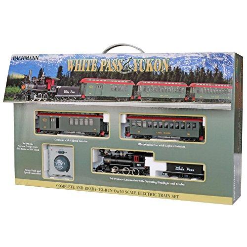 - Bachmann #86429 Spectrum 1:48 Scale On30 Narrow Gauge White Pass & Yukon Passenger Train Set