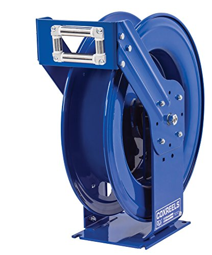 "Coxreels TSHFL-N-550 Spring Rewind Hose Reel for fuel dispensing applications: 3/4"" I.D., 50"