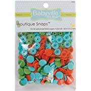 Babyville Boutique Snaps, Playful Pond, 60 Count