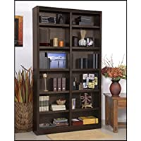 Black Bear 84 Standard Bookcase Espresso