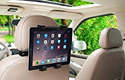 Okra 360 Degree Adjustable Rotating Headrest Car Seat Mount Holder For Ipad, Samsung Galaxy,motorola Xoom, & All Tablets Up To -10.1""