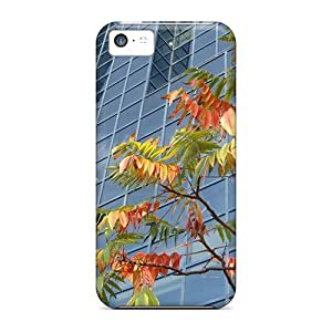 XiFu*MeiFor Iphone Cases, High Quality Autumn In The City For ipod touch 4 Covers CasesXiFu*Mei