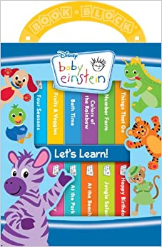 Listen and learn baby einstein board book