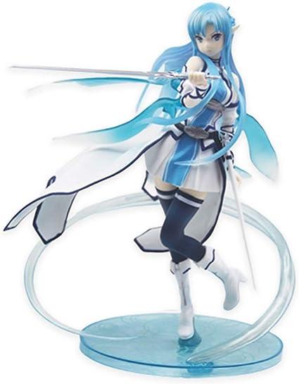 SAO Anime Sword Art Online blue Model Toy figure figures Figurine Statues