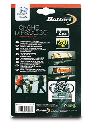 Bottari 18201 Sangles dArrimage Standard Set de 2 2,50 m