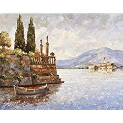 """Evening Light on Lake Como"" Art Print by John Zaccheo"