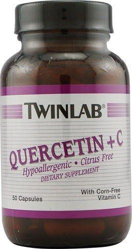 Twinlab Quercetin Plus C — 50 Capsules