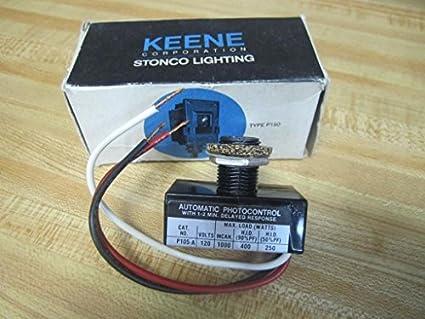 Keene Lighting P105-A Button Photo Control P105A & Keene Lighting P105-A Button Photo Control P105A: Amazon.com ...